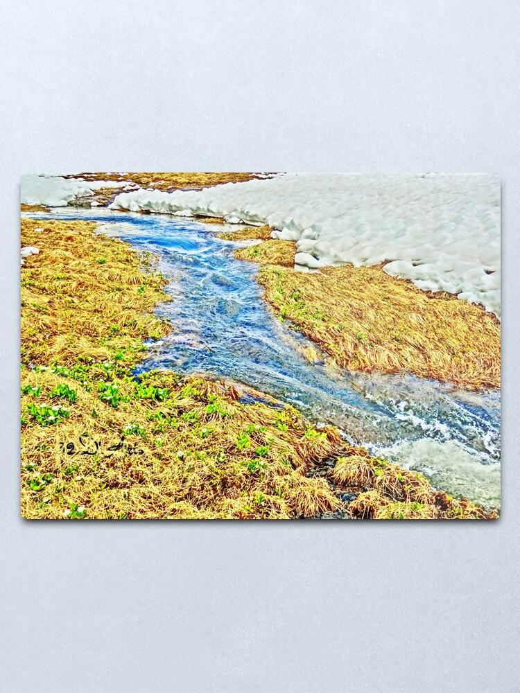 Alternate view of Roaring Fork River, Headwaters No.8 Metal Print