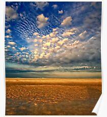 Tidal Pool & Sky Poster
