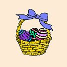 Easter Basket Stuffers - Easter Basket and Eggs - Easter Present by LJCM
