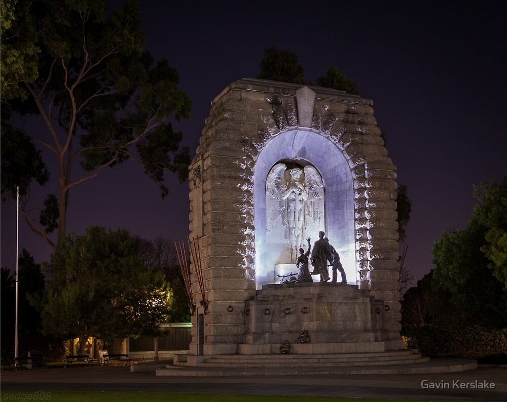 National War Memorial (South Australia) by Gavin Kerslake
