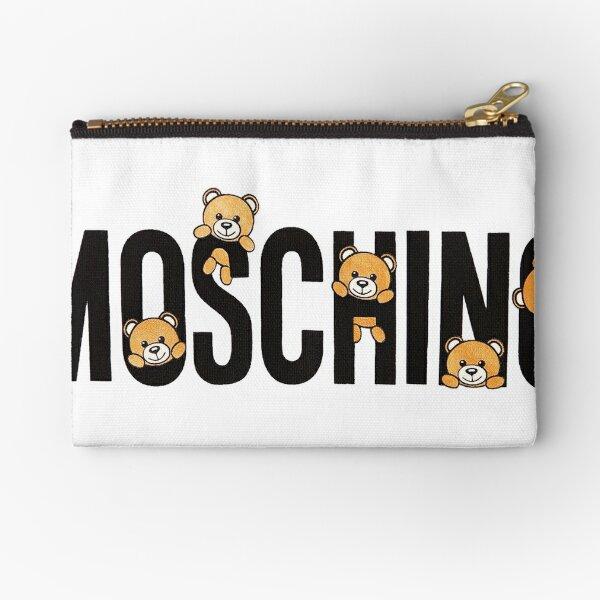 Cute Moschino Teddy Bear Zipper Pouch