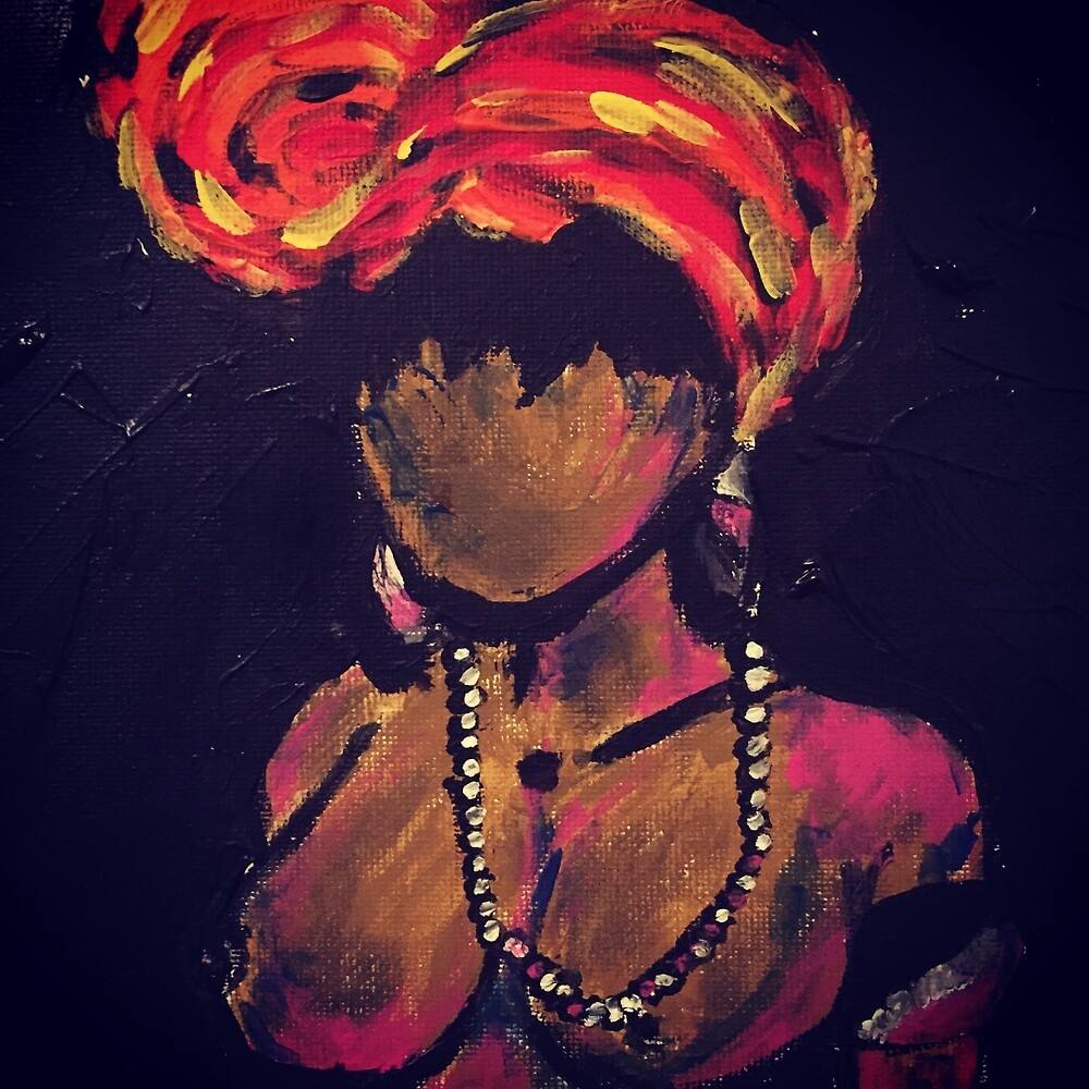 Nubian queen by ArtisLife1988