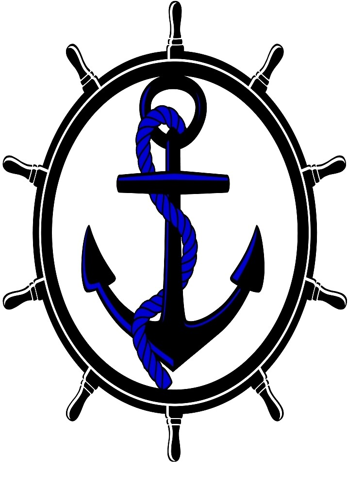 Anchor and Helm by ImpossibleStyle