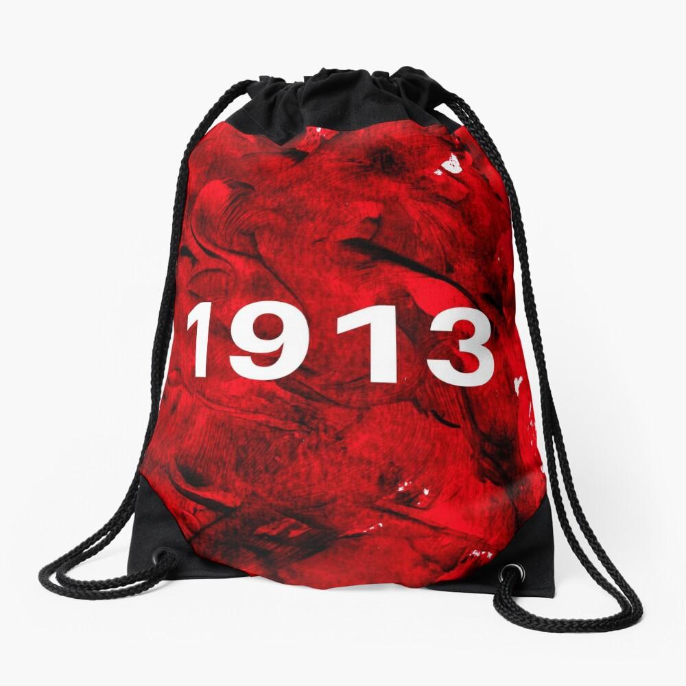 1913 Splotch Drawstring Bag Front