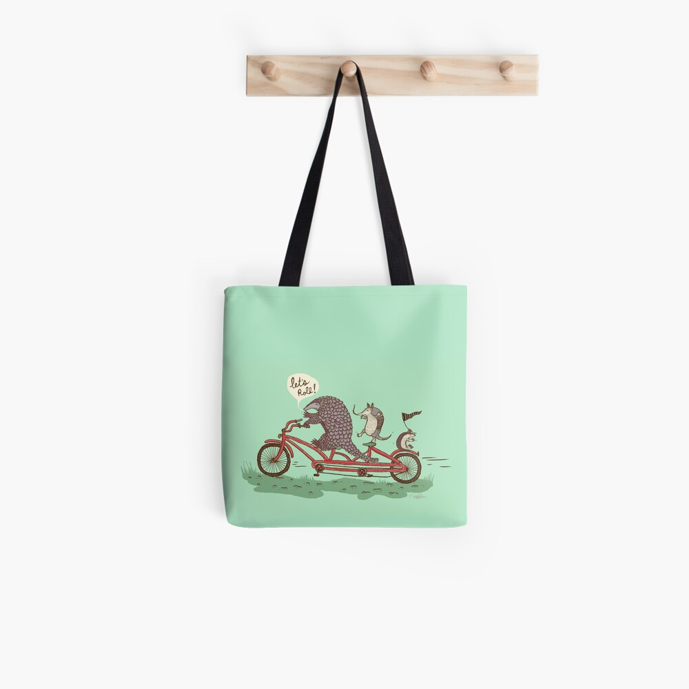 ROLLIN' PANGOLINS Tote Bag