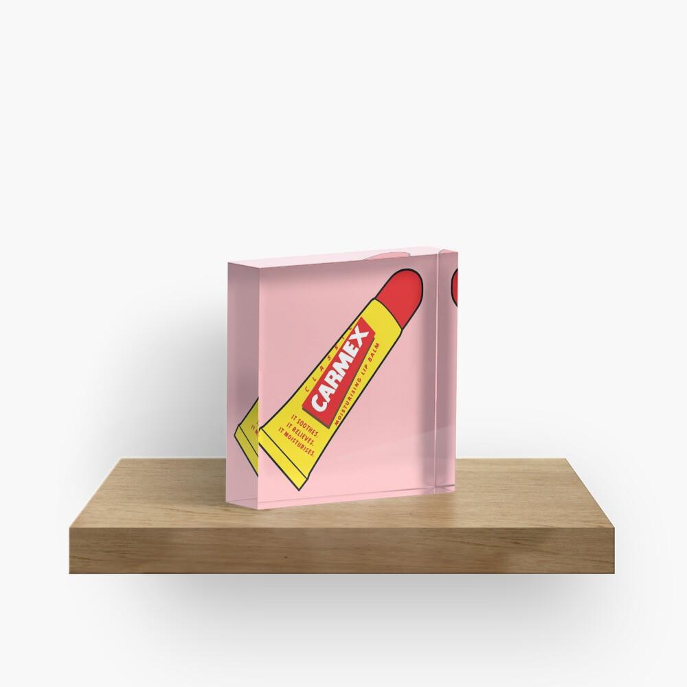 Lippenbalsam Acrylblock