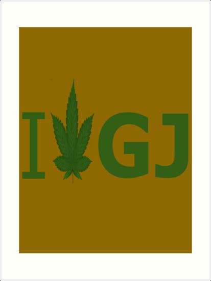 I Love GJ by Ganjastan