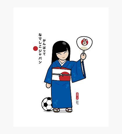 なでしこジャパン Photographic Print