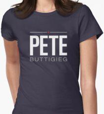 Pete Buttigieg 2020 Präsident Logo Tailliertes T-Shirt