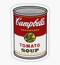 tomato soup Sticker