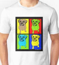 Designer Puggle Dog Pop Art T-Shirt