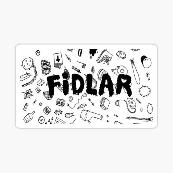 Fidlar doodles Sticker