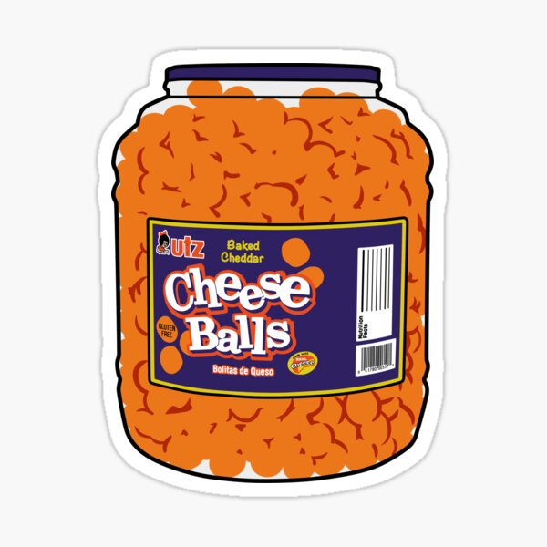 bolas de queso Pegatina
