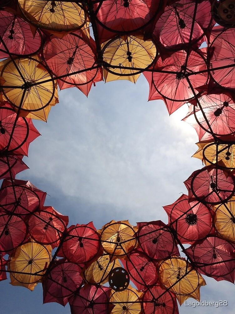 Governor's Island Umbrella Sculpture by Lagoldberg28