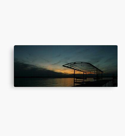 """Sunset Cove II, Madison Wisconsin, 2010"" Canvas Print"