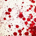 Blood Spatter 2 Canvas Print By Jenbarker Redbubble