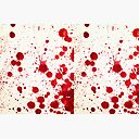 Blood Spatter 2 Zipper Pouch By Jenbarker Redbubble