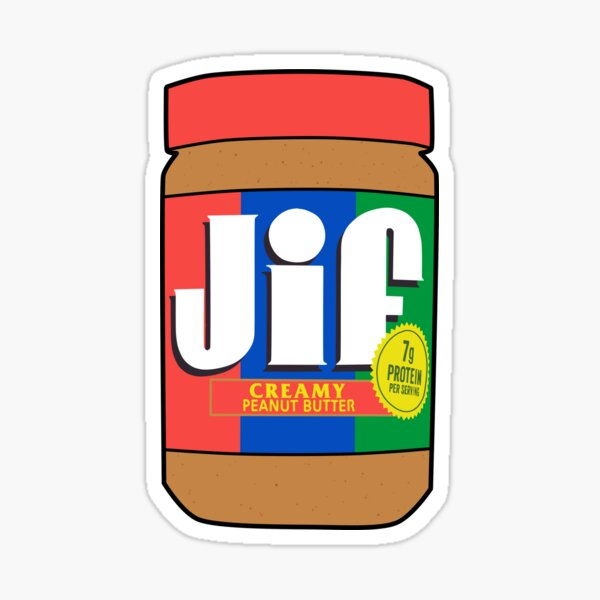 peanut butter Sticker