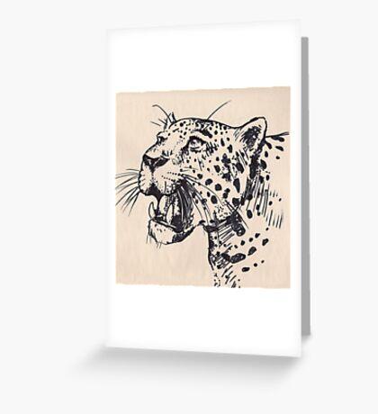 kitty kitty Greeting Card