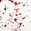 Blood Spatter 6 Metal Print By Jenbarker Redbubble