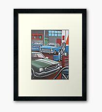 Garage 2 Framed Print