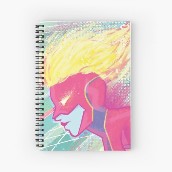 Higher, Further, Faster Spiral Notebook