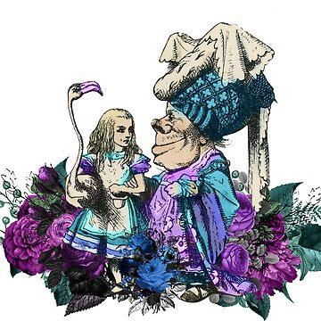 Alice's Adventures in Wonderland Croquet Game by 4Craig
