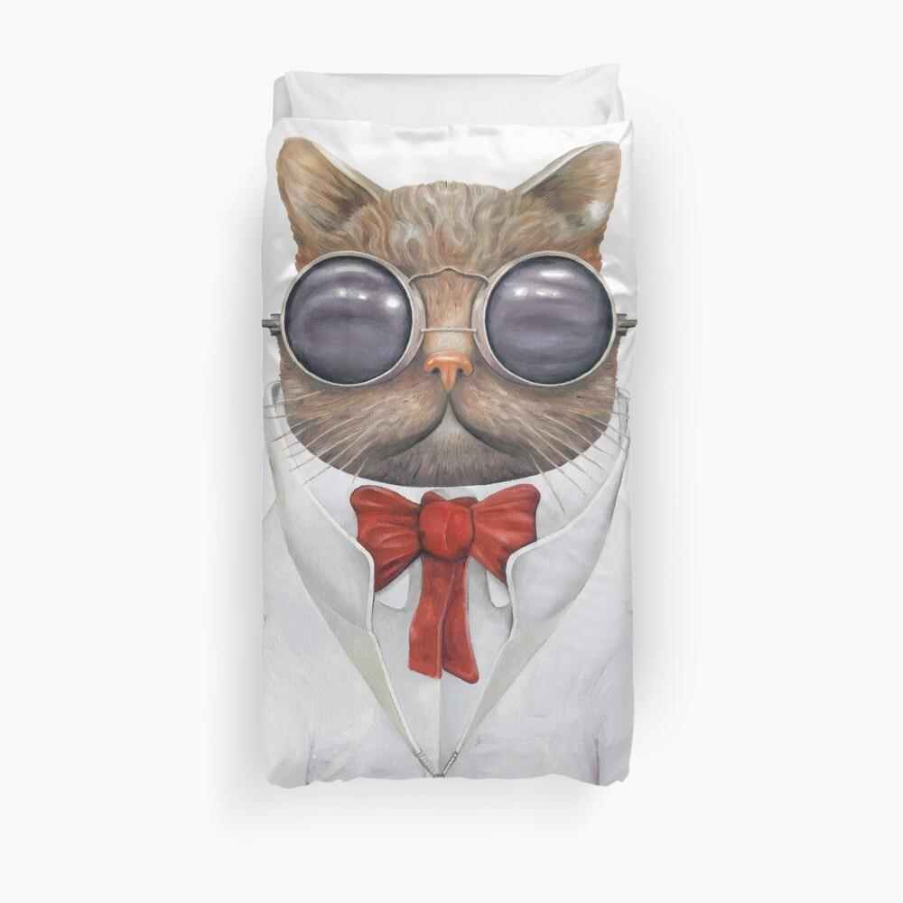 Astro Cat Duvet Cover