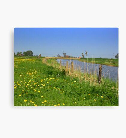 River *De Linde* Canvas Print