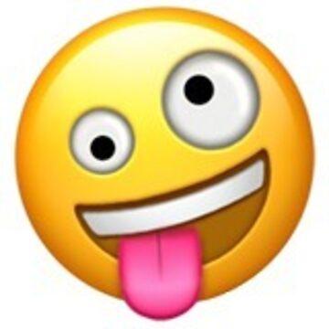 Dumme Emoji-Aufkleber von isabellajm