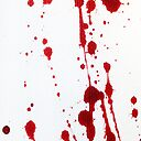 Blood Spatter Knife Cast Off Art Print By Jenbarker Redbubble