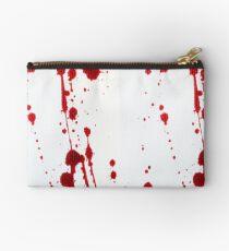 Blood Spatter Knife Cast Off Studio Pouch