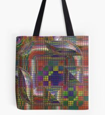 Futurama background Tote Bag