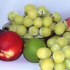 Obst. Ein Traubenstillleben in Macro von TeAnne