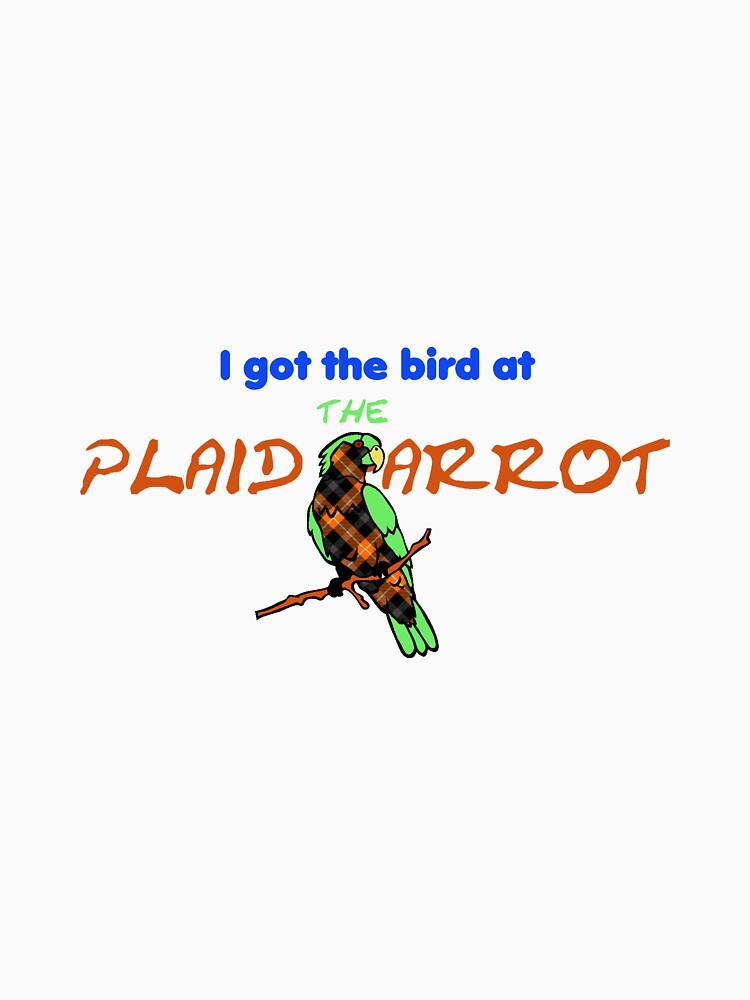 The Plaid Parrot Official Gear by plaidparrot