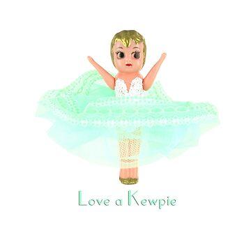 Love a Kewpie - Mint Green by originalkewpies