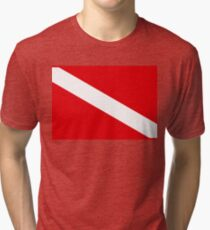 Taucherflagge Vintage T-Shirt