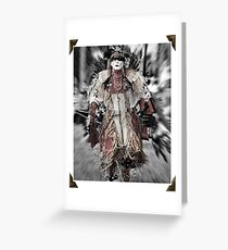 At the Pow Wow Greeting Card