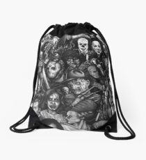 Classic Horror Movies Drawstring Bag