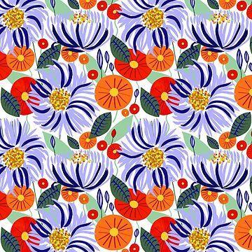 Alia #floral # ilustración # botánica de 83oranges