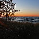 Sun setting at Twelvemile Beach by Megan Noble
