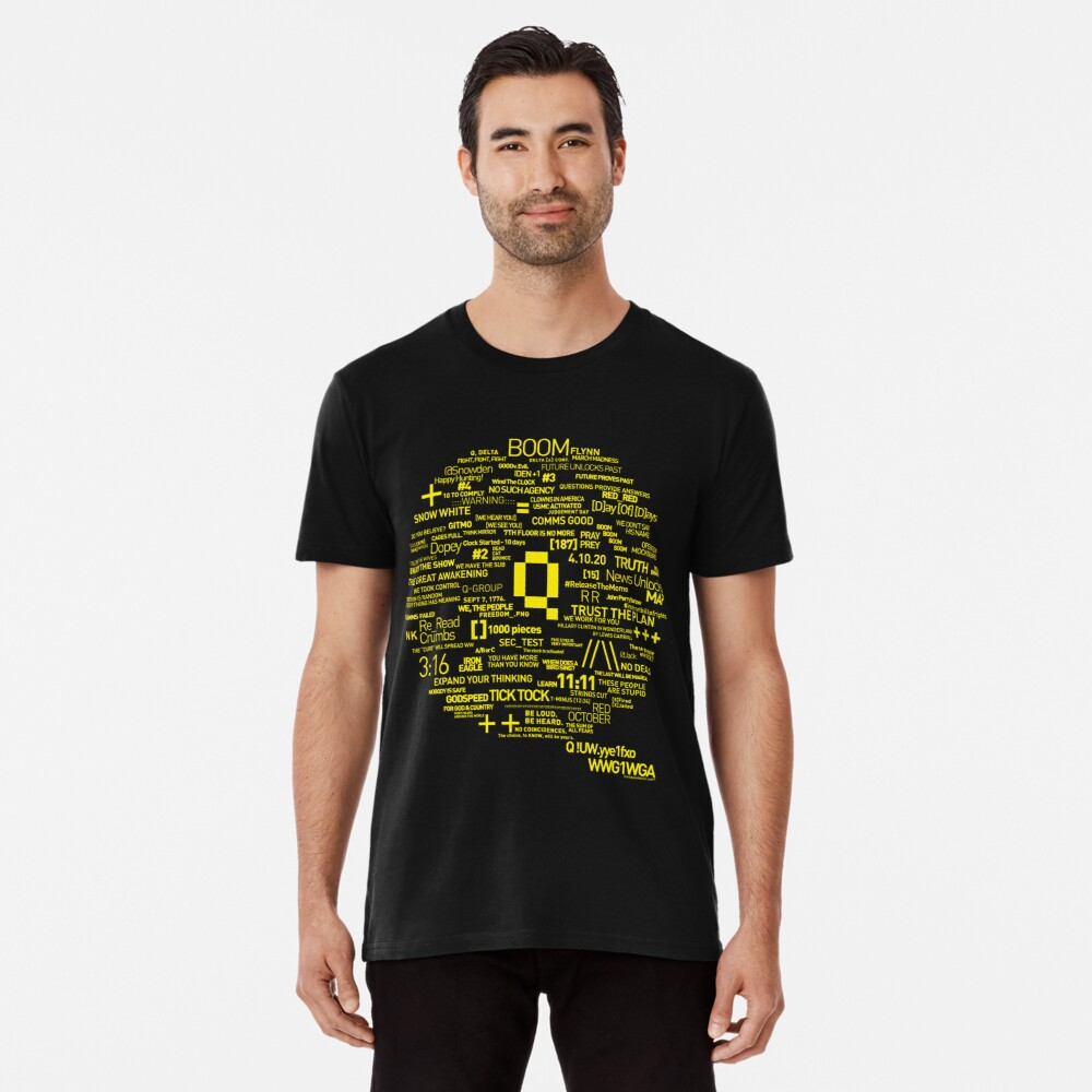 Qanon - Great Awakening - QResearch - OFFICIAL Cryptograph V2 Premium T-Shirt