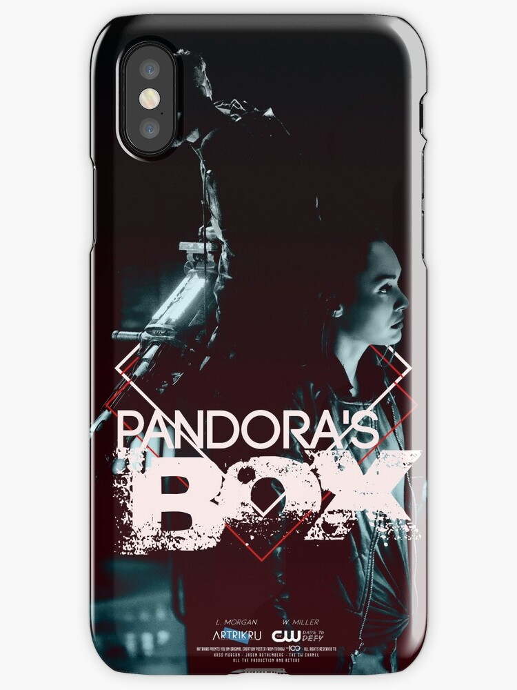 'Pandora's Box' iPhone Case by Art-Trikru