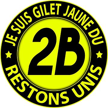 I'm Yellow Vest 2B by extracom