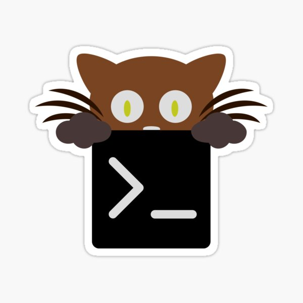 Kitty Terminal Sticker