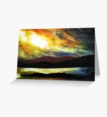 Twilight over Loch Dunvegan Greeting Card