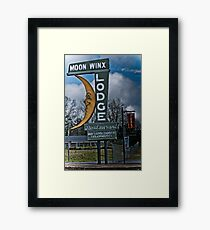 moon winx lodge Framed Print