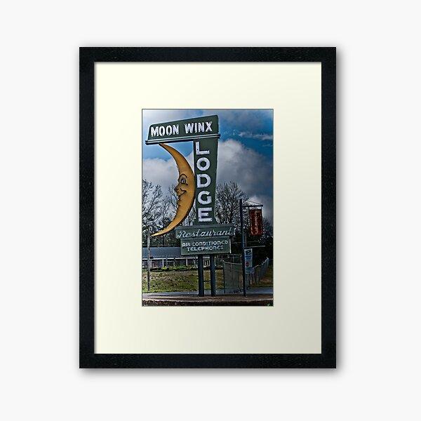 moon winx lodge Framed Art Print