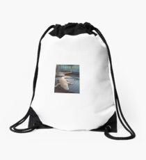 White Gator Drawstring Bag