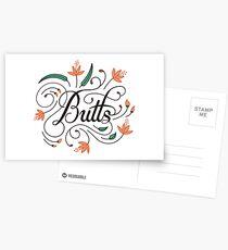 Butt Lover Postcards